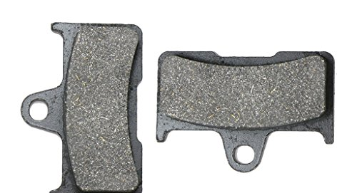 CNBK Rear Brake Shoe Pads Semi Met for YAMAHA ATV YFM660 YFM 660 FWAP FWAR FWAS FWAT FWAW FGW FGX Grizzly 02 03 04 05 06 07 08 2002 2003 2004 2005 2006 2007 2008 1 Pair(2 Pads)
