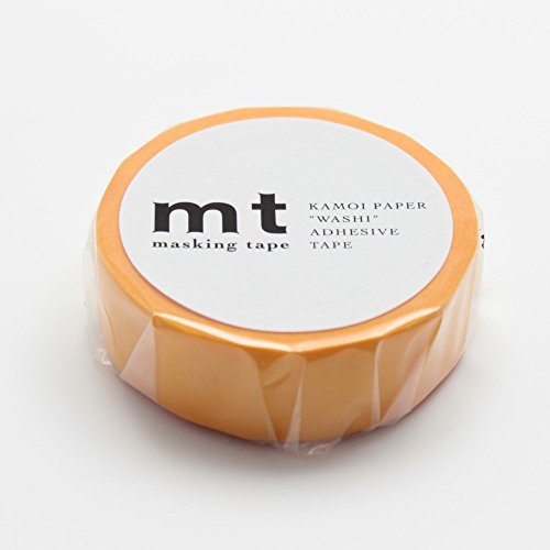 "MT Solids Washi Paper Masking Tape: 3/5""x33' / Himawari, Sunflower (MT01P194)"