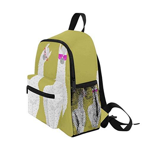 Boys nbsp;School nbsp;for nbsp;Bag Alpaca nbsp;Girls Kids nbsp;Book ZZKKO nbsp;Backpack nbsp;Toddler Llama g7Izzq