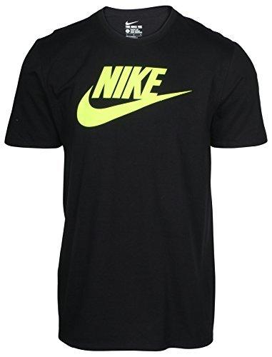 Nike Men's Classic Swoosh Icon Logo T-Shirt 921093-012 - Large Nike Classic Logo Tee