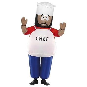 Smiffyu0027s Chef Inflatable - South Park - Audlt Fancy Dress Costume  sc 1 st  Amazon UK & Smiffyu0027s Chef Inflatable - South Park - Audlt Fancy Dress Costume ...