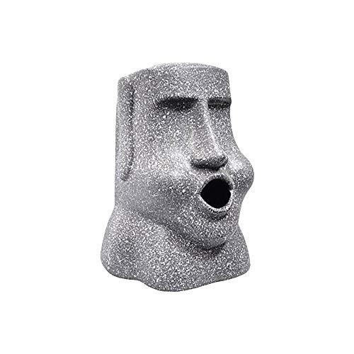 (Fancystar Moai Tissue Box Cover, Tissue Dispenser Napkin Holder Decoration for Your Office, Desk, Or Living Room, for Your Friend)