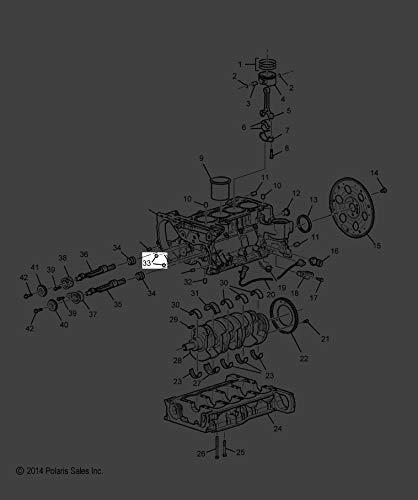 (Polaris 2015-2018 Slingshot Limited Edition Slingshot Plug Eng Gm 21000867 New Oem)