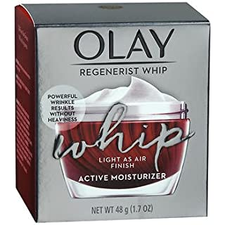 Olay Regenerist Whip Active Moisturizer 1.7 Ounce (50ml) (2 Pack)