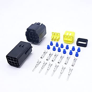 X AUTOHAUX 1 Pin Way Car Waterproof Automotive Electrical Connector Terminals 5 Sets