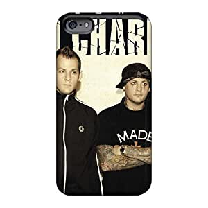 Apple Iphone 6plus Twh13016sdtW Custom High Resolution Good Charlotte Band Image Shockproof Cell-phone Hard Cover -phonecaseforall