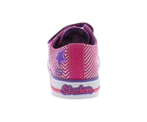 Skechers Kids 10249N TWINKLE TOES - S LIGHTS - Shuffles - Triple Up and Light-Up Sneaker (Toddler/Little Kid)