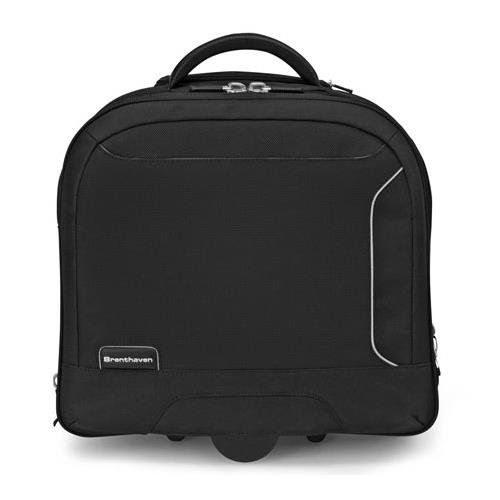 Brenthaven ProStyle II X-ray Friendly Wheeled Case for 14-15.6'' Laptops by Brenthaven