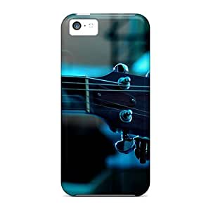 New Arrival Cover Case With Nice Design For Iphone 5c- Guitar