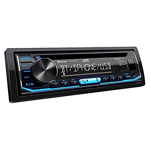 JVC KD-TD70BT CD Receiver Featuring Bluetooth USB Pandora iHeartRadio Spotify FLAC 13-Band EQ