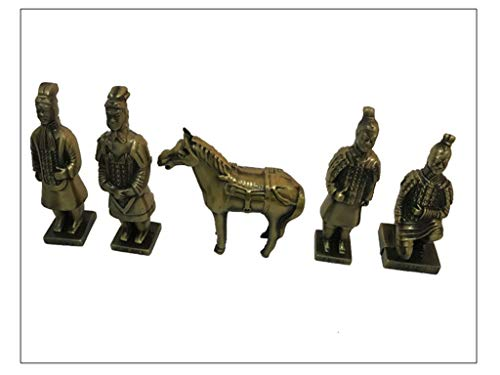 Five Sets of Terracotta Warriors and Horses of The First Qin Emperor
