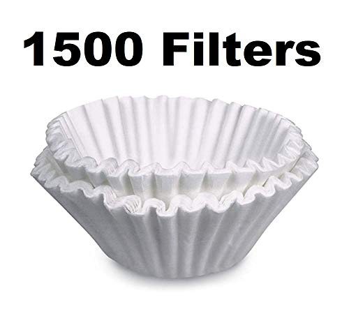 OKSLO Coffee filters for bunn grx-w grx-b 10 cup velocity brew 1500 pack