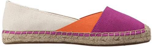 Balletto Brillante Rosa Piatto Sperry Top Arancio Brillante Delle Mantello Blocco sider Katama Donne ww7Sx1
