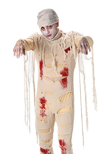 Adult Mummy Costumes - Men's Tomb Mummy Costume - Halloween Costume (XL)