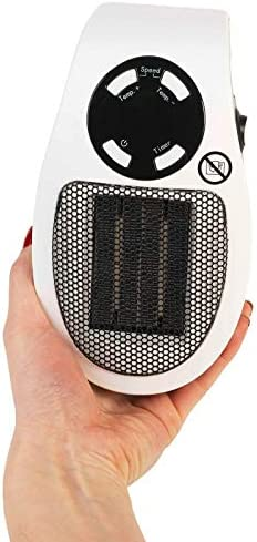 Beldray® EH30012STK Compact Plug-in Heater, 450W, White