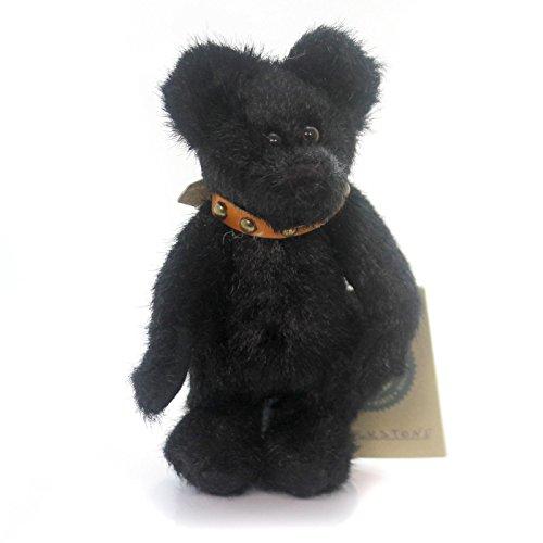 - Boyds Bears Plush BLACKSTONE Fabric Teddy Bear Jointed 584007