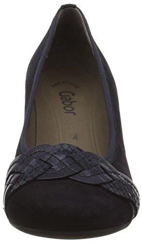 45 Pazifik 487 blue Scarpe Col Gabor Multicolore ocean 16 Donna Shoes Tacco zwPE46n5q