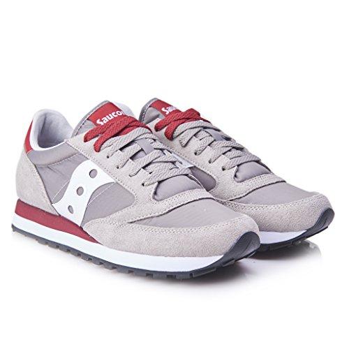 Saucony Jazz Original herren, wildleder, sneaker low Grey/Red