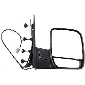 NEW Mirror Glass 03-07 FORD E150 E250 E350 E450 VAN Driver Left Side LH