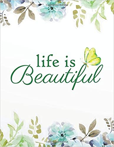 Life is beautiful: Cornell Notes Notebook/Cornell Note Paper ...