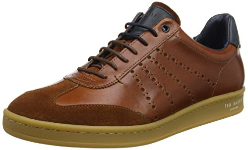 Ted Baker Orlee 2 - Dark Tan Leather (Brown) Mens Trainers gytjCnAVNQ
