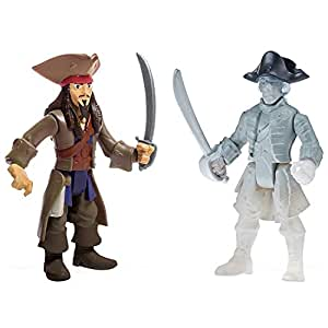 Pirates of the Caribbean Salazar's Revenge Two Figure Pack Jack Ghost Crewman