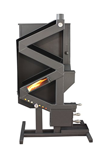 US Stove GW1949 Wiseway Non-Electric Pellet Stove (Sale Stove Wood For Wood)