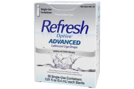 Refresh Optive™ Advanced - Lubricant Eye Drops - 0.1 oz. - Drop-McK - 0.1% Ointment