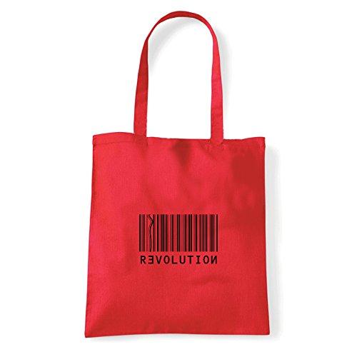 À T Art Revolution bag Porter L'épaule shirt Rouge Sac Pour Femme p0ddUqxwr