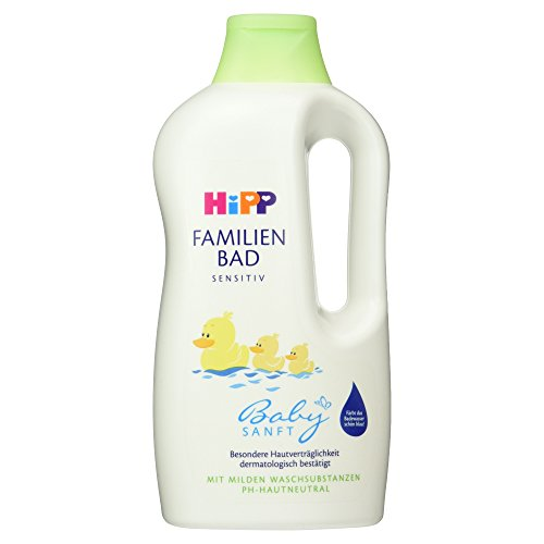 HiPP Baby Gentle Family Baby Bubble Bath with organic Almond Extract - 33.8 fl.oz / 1000ml by HIP Interactive (Hipp Baby Food Stage 3)