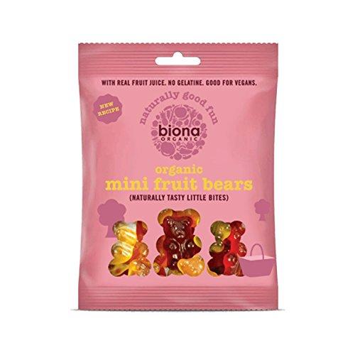 Biona Caramelos de Fruta Ositos 75g (Pack de 2): Amazon.es: Alimentación y bebidas