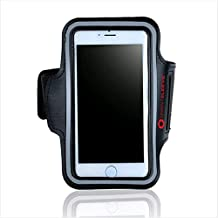 SprintSleeve Sports Armband| Best Phone Reflective Running Gear| Suitable For iPhone 5/5s, iPods | For All Outdoor Sports | Men, Women & Kids | Shields From Rain | Waterproof