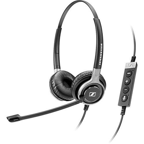 Sennheiser Century SC 660 USB CTRL Premium Premium Dual-Sided Wired Headset (504555) (Wired Stereo Headset Premium)
