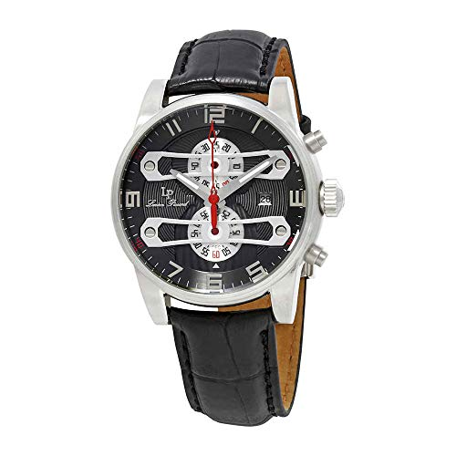 (Lucien Piccard Men's LP-40045-014 Bosporus Analog Display Quartz Black Watch )