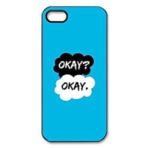 Customize Okay Unique Durable Back Cover Case for iPhone 5 5s wangjiang maoyi