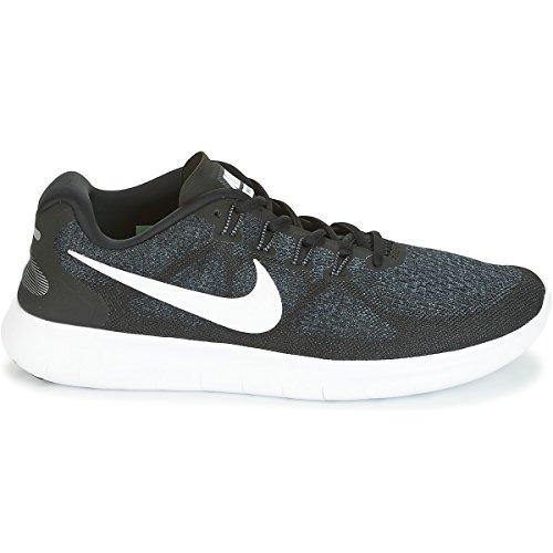 anthracite Sneaker white Schwarz Rn NIKE Schwarz Herren 2017 Free dk Black Grey aFxfgq4