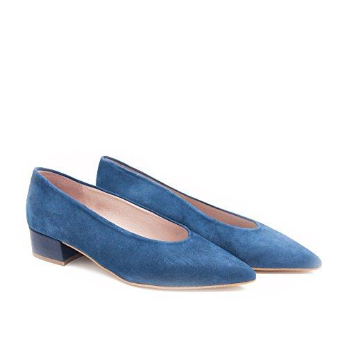 Damen Eva Escarpins Klassische Schuhe López Leder txtrC0nZq