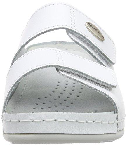 Tamaris Women 1-1-27510-26 Mules White Size: 3 UK 8O6FLbr