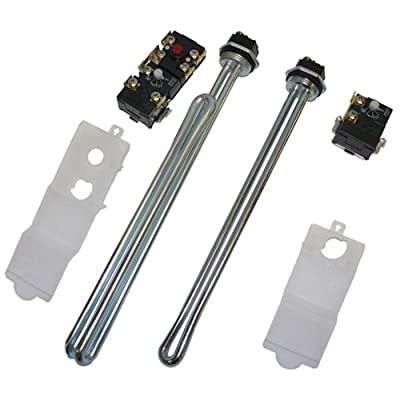 Reliance Water Heater 100109136 Electric Water Heater Plumber Repair Pack, Includes 1 Each Upper Thermostat.