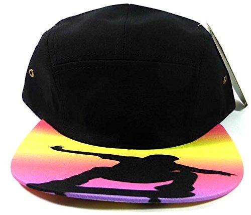 ストラップバック5-panel空白Camp帽子キャップファッション – Skateboarder &サンセット   B00LCHXR9G