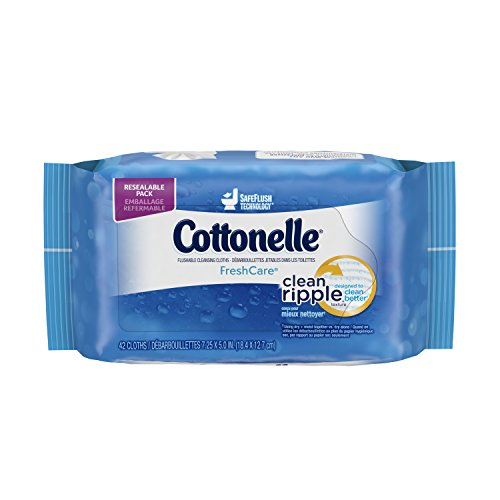 Cottonelle Popup Refill Wipes by Kimberly Clark (K-C11963) 42-Count (Pack of 12)