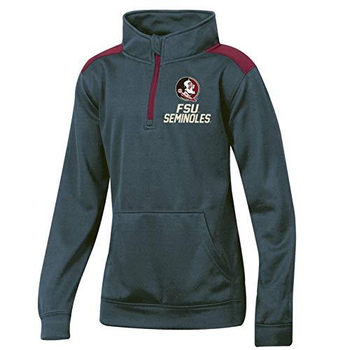 - Pro Edge Boys' Florida State Seminoles FSU Quarter-Zip Pullover Top (Gray, Medium 8-10)