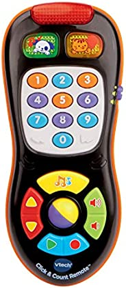 VTech Click and Count Remote, Black, Great Gift For Kids, Toddlers, Toy for Boys and Girls, Ages Infant, 1, 2,