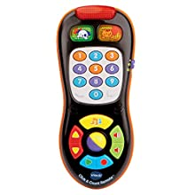 VTech Click and Count Remote (Frustration Free Packaging), Black, Great Gift For Kids, Toddlers, Toy for Boys and Girls, Ages Infant, 1, 2, 3