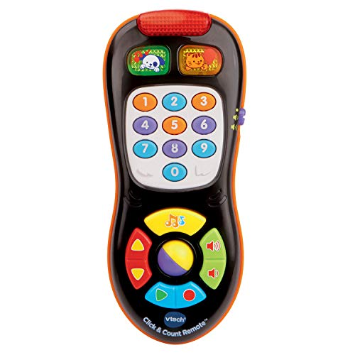 VTech Click and Count Remote, Black (Best Remote Control Toy For 4 Year Old)