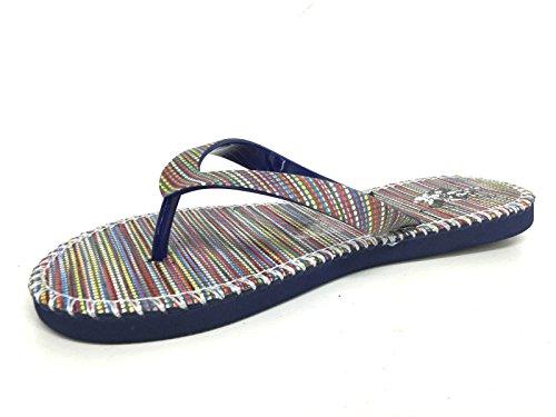 U.S. Polo ASSN. - Schuhe - Flip-Flop mit ausgefallenen Streifen - DEKKA4218S6-G1