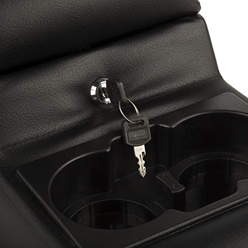 Rugged Ridge 13102.01 Ultimate Black Locking Center Console