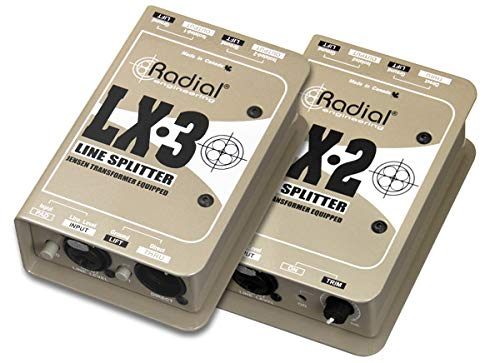 (Radial LX3 3-channel Balanced Line Splitter w/Isolation)