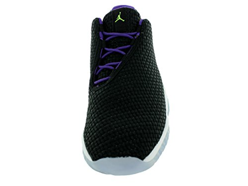 Nike Air Jordan Future Scarpe Da Ginnastica Basse Gg 724814 Scarpe Da Ginnastica Nere / Viola / Bianche