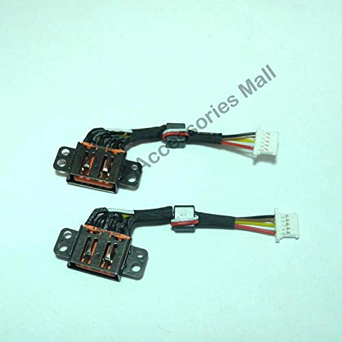 Amazon.com: Computer Cables Laptop DC Power Jack with Cable ...